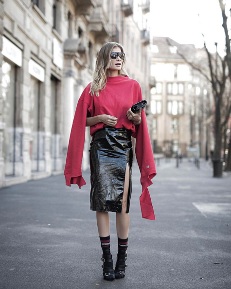 MIlan fashion week street style for less