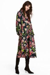 hm crepe dress