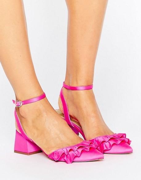 asos ruffle heels