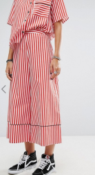 reclaimed vintage culottes