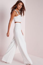 missguided crepe pants