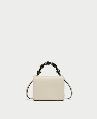zara white bag 29,95
