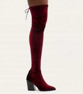 PB velvet boots