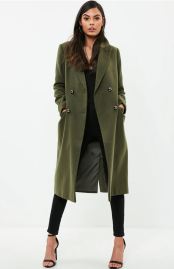 misguided military coat