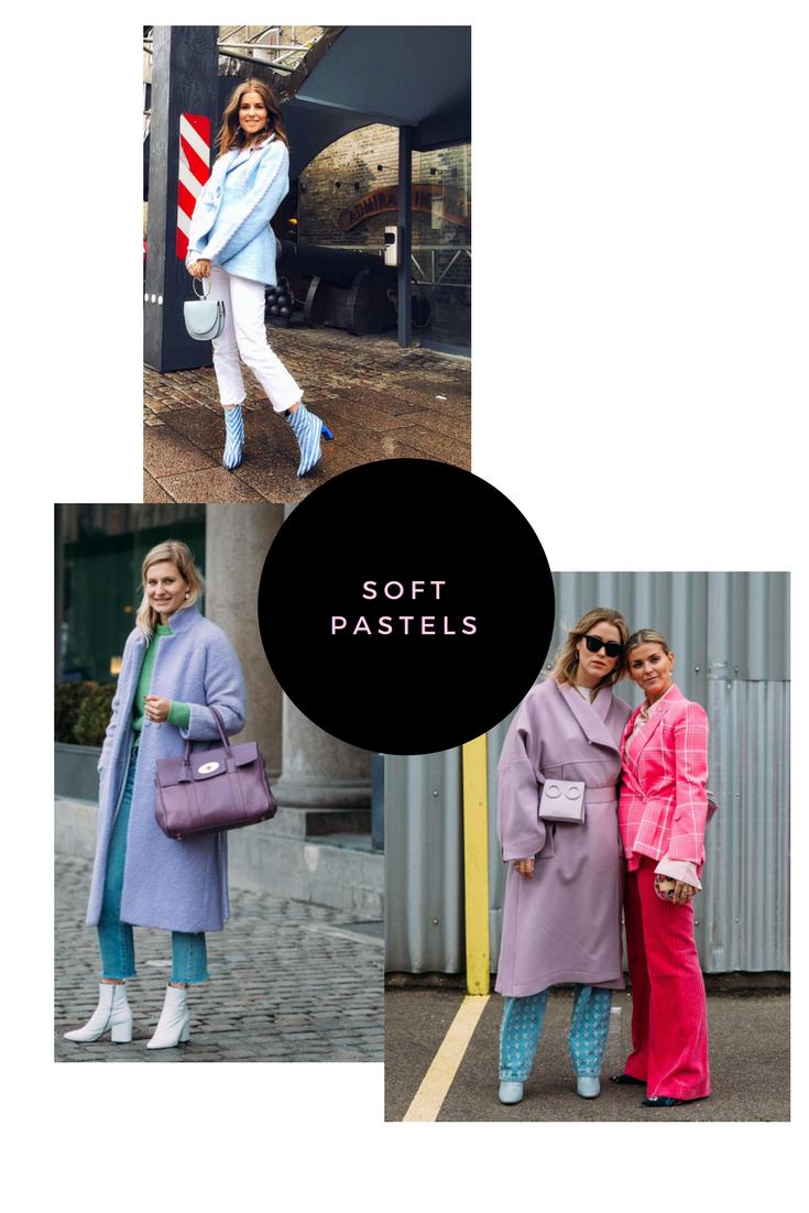 SOFT PASTELS winter styling
