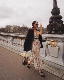aimee song floral dress