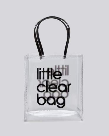 bloomingdales little clear bag