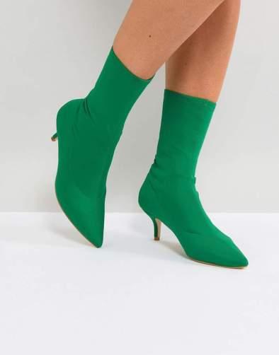 green sock boots