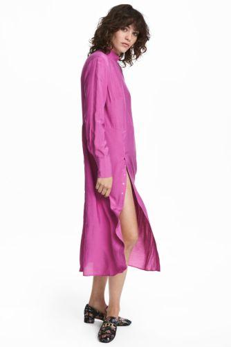 hm pink dress