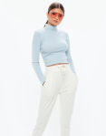 missguided high neck top