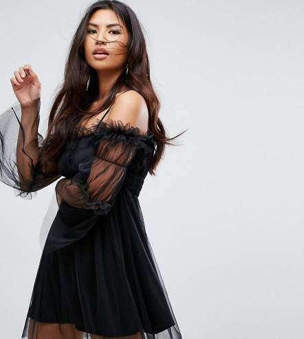 missguided tulle dress
