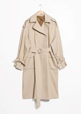 other stories trench coat