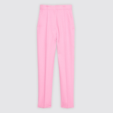 sandro pink trousers