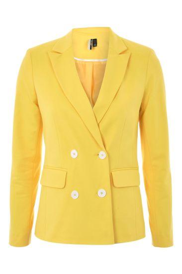 topshop yellow blazer