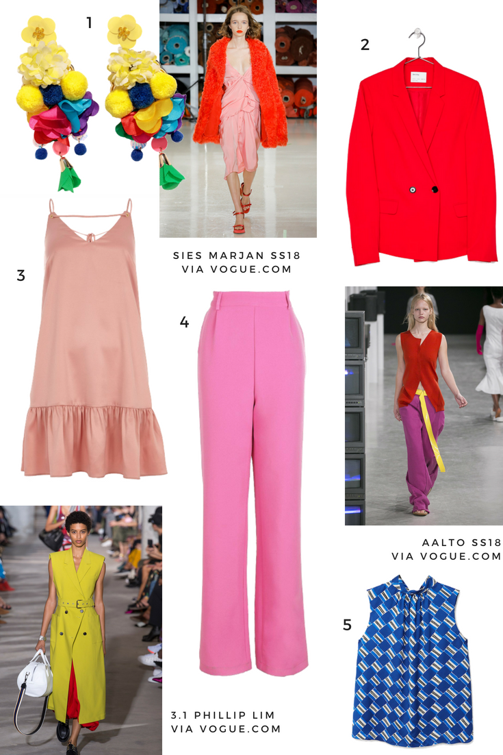 crayola colors ss18 trend