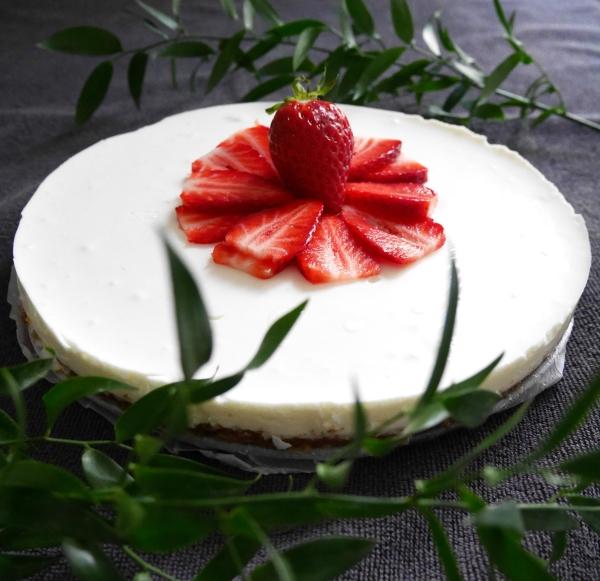 gluten free limoncello cheesecake