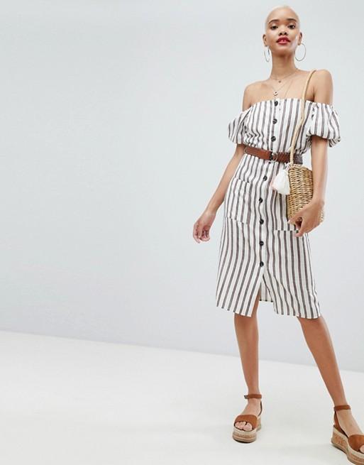 river island stripe dress