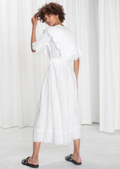 stories scallop dresss