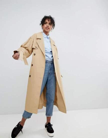 monki trench coat
