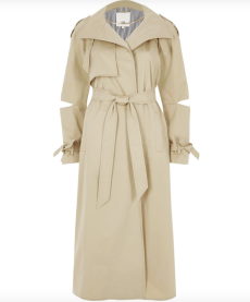 river island trench coat