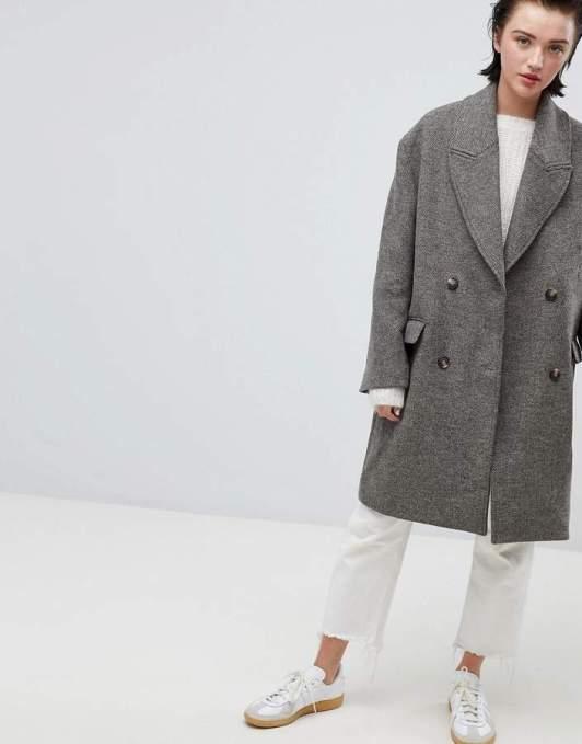 weekday oversized coat