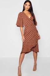 boohoo-polka-dot-wrap-dress