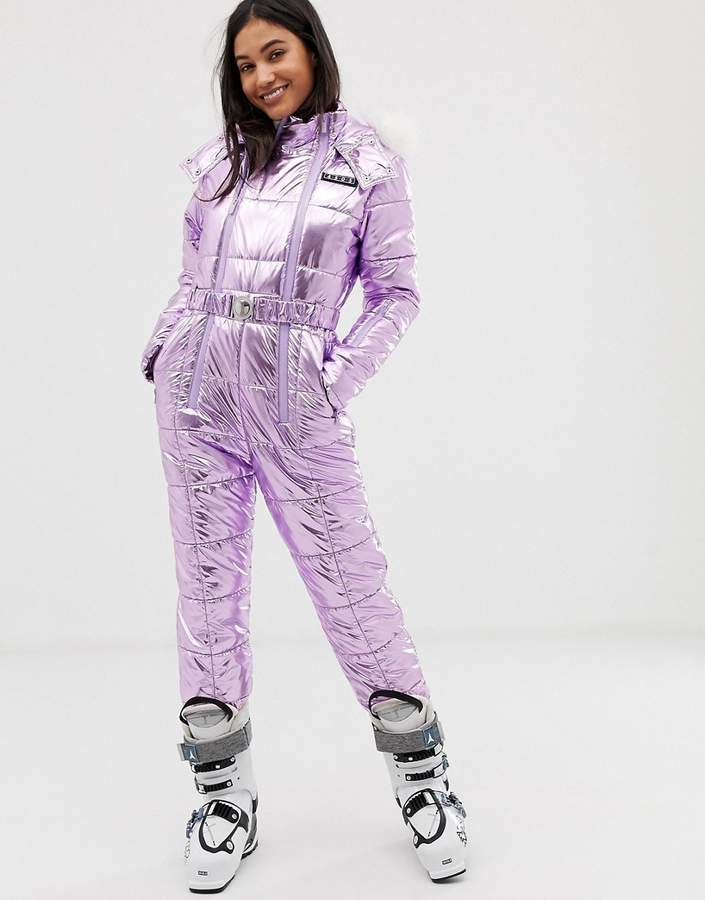 asos ski all in one