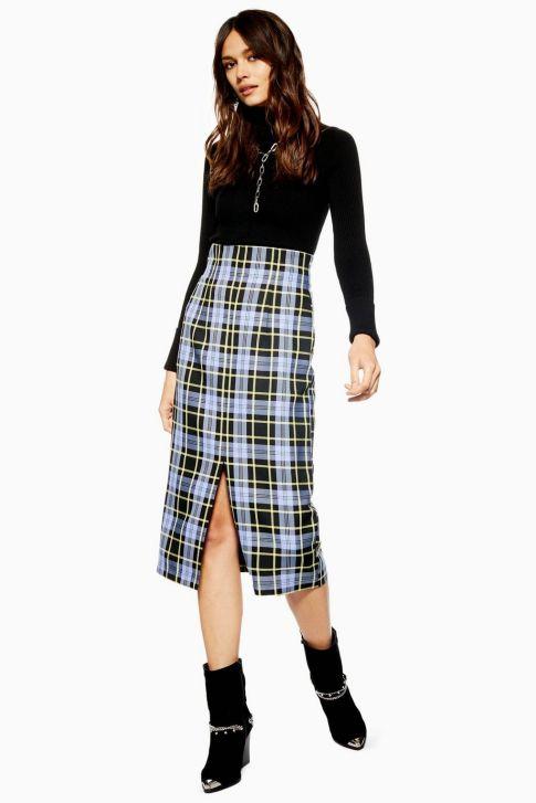topshop pencil skirt
