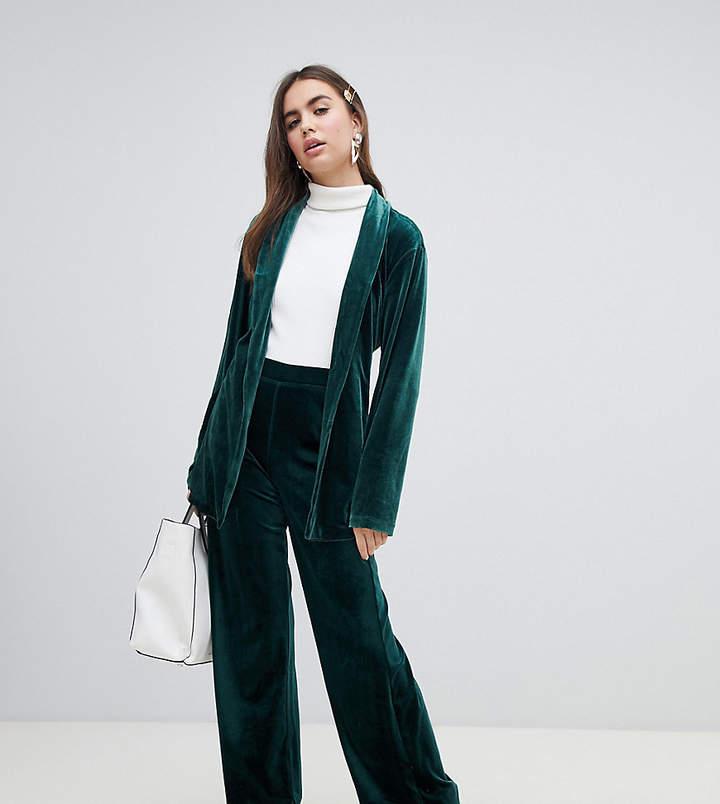 monki velvet trousers