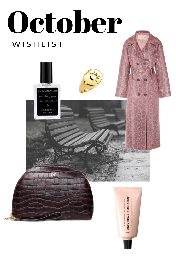 October beauty and fashion news