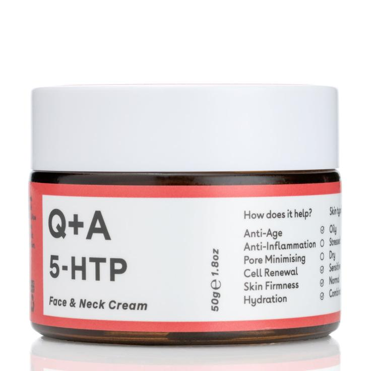 Q + A 5-HTP Face Neck Cream