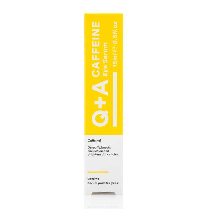 Q + A Caffeine Eye Serum