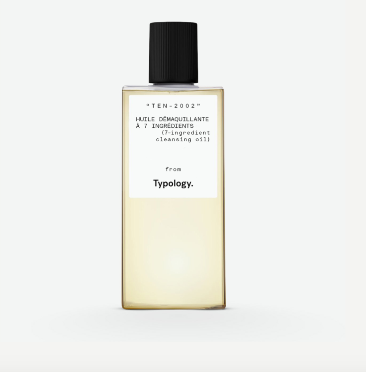 Typology cleansing oil